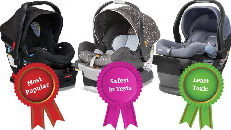 An infant car seat may be one of the most important things you buy for your baby. Here are reviews of the safest, most natural & nontoxic options.