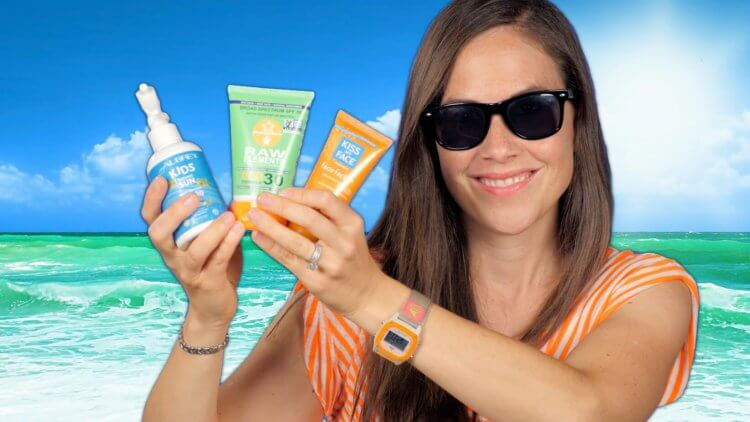 "Sunscreen. Conventional options are bad for you. Many ""green"" ones aren't much better. What's a natural mama to do? What is the best natural sunscreen?"