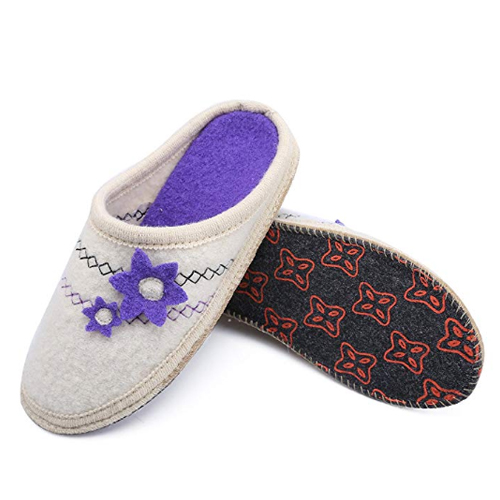 Boiled Wool Maternity Slippers