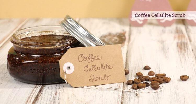 Coffee Cellulite Scrub recipe by Mama Natural