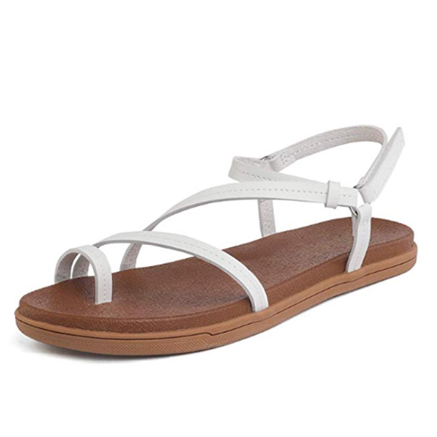 DREAM PAIRS Women's Slingback Flat Sandals