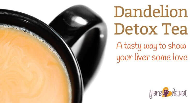 Dandelion Root Detox Tea, a tasty way to show your liver some love.