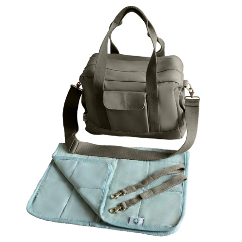 Dera Design Organic Canvas Diaper Bag