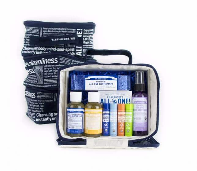 Dr Bronner's Gift Set