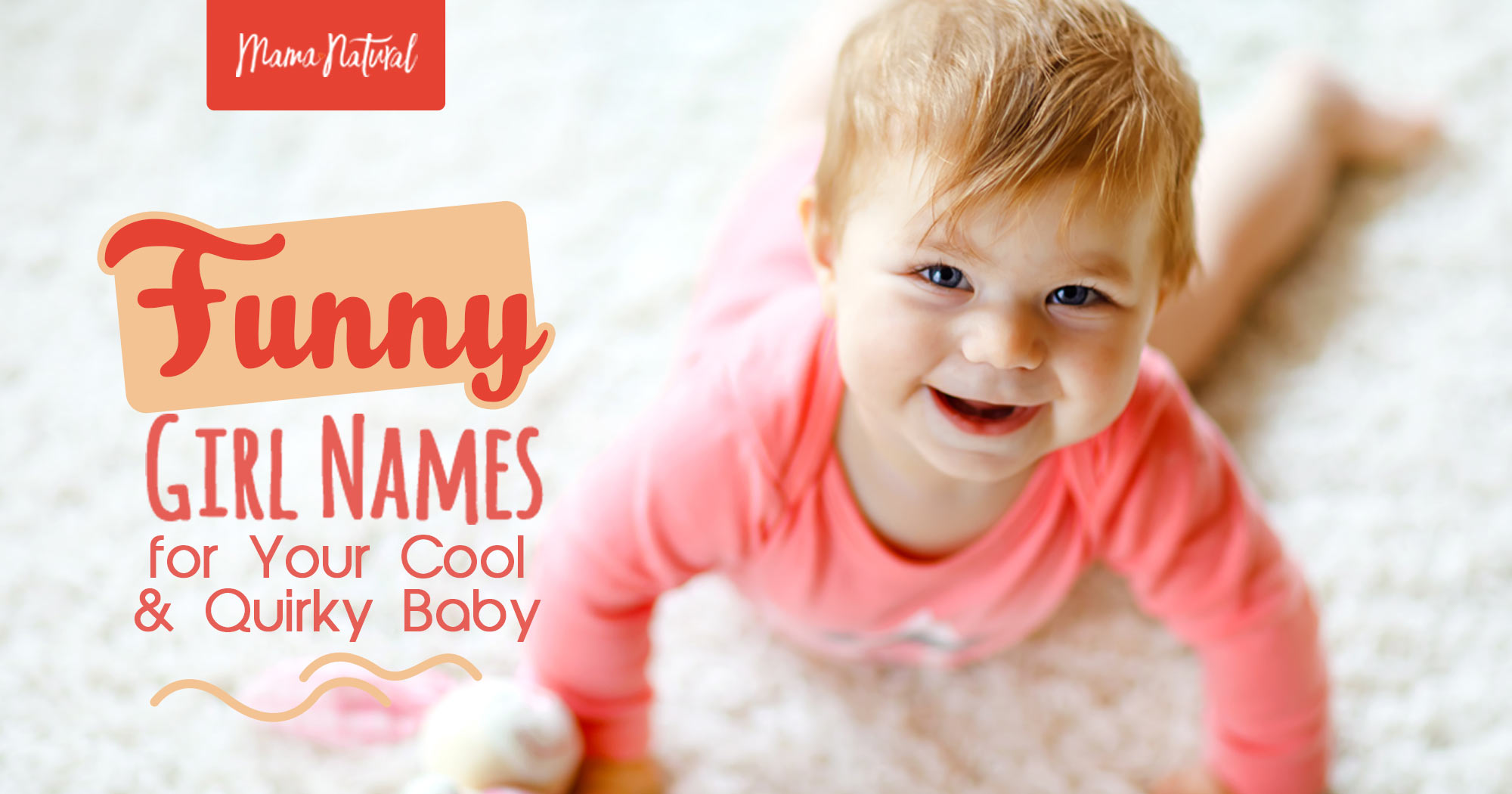 Funny Girl Names For Your Cool Quirky Baby Mama Natural