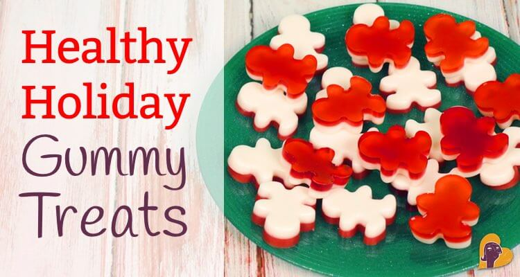 Two healthy holiday treat recipes that satisfy the sweet tooth and are also packed with high quality protein. Candy cane gummy men and peppermint trees!