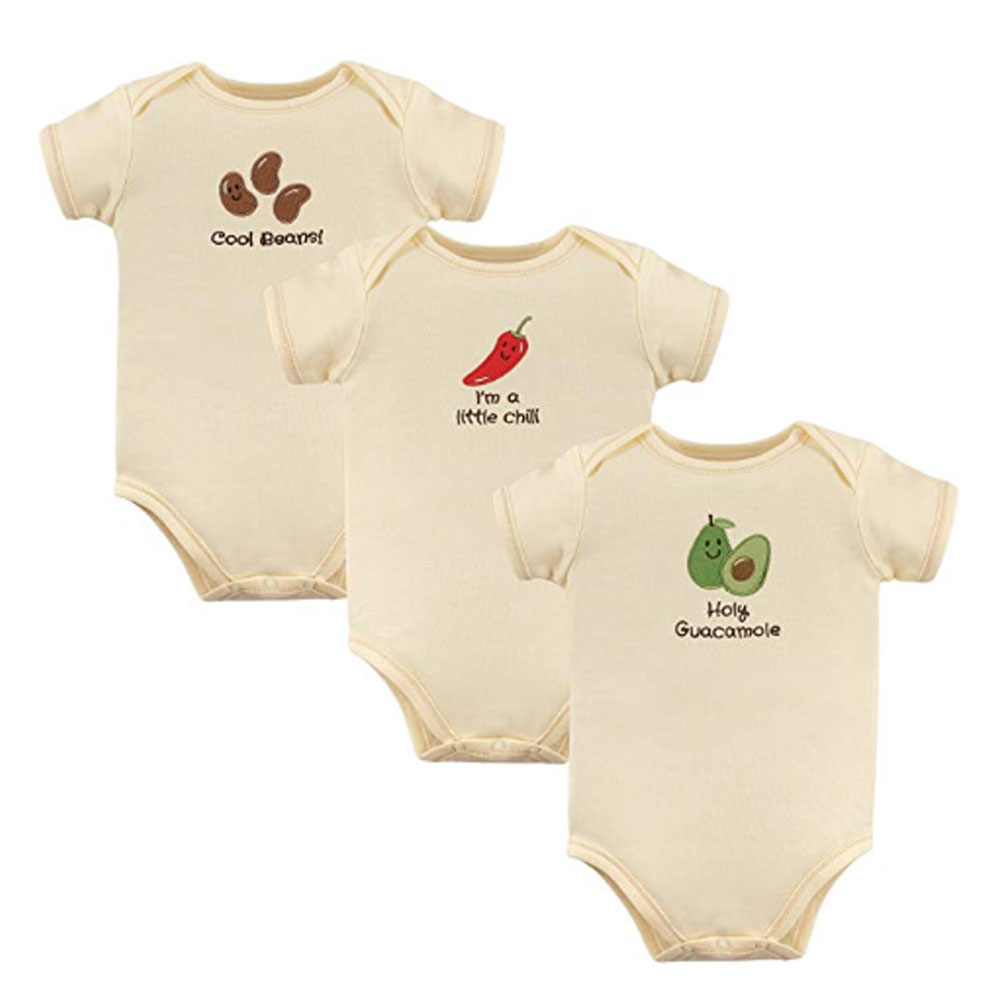 Holy Guacamole 3-Pack Bodysuits