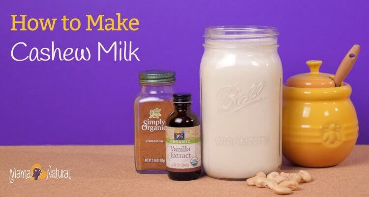 Cashew milk is a delicious, creamy, healthy drink that is a wonderful alternative if you're avoiding dairy. How do you make cashew milk? It's easy!