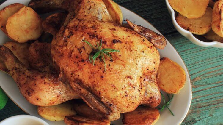 How to Roast Chicken and Root Vegetables