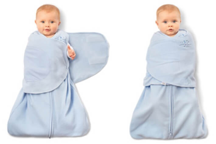 How to Swaddle a Baby - the sleep sack swaddle - Mama Natural