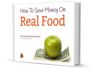 How to save money on real food free ebook by Mama Natural