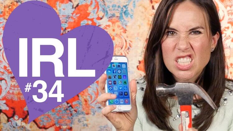 Ever feel like smashing your smartphone? Yeah, me too. See why in this week's IRL!