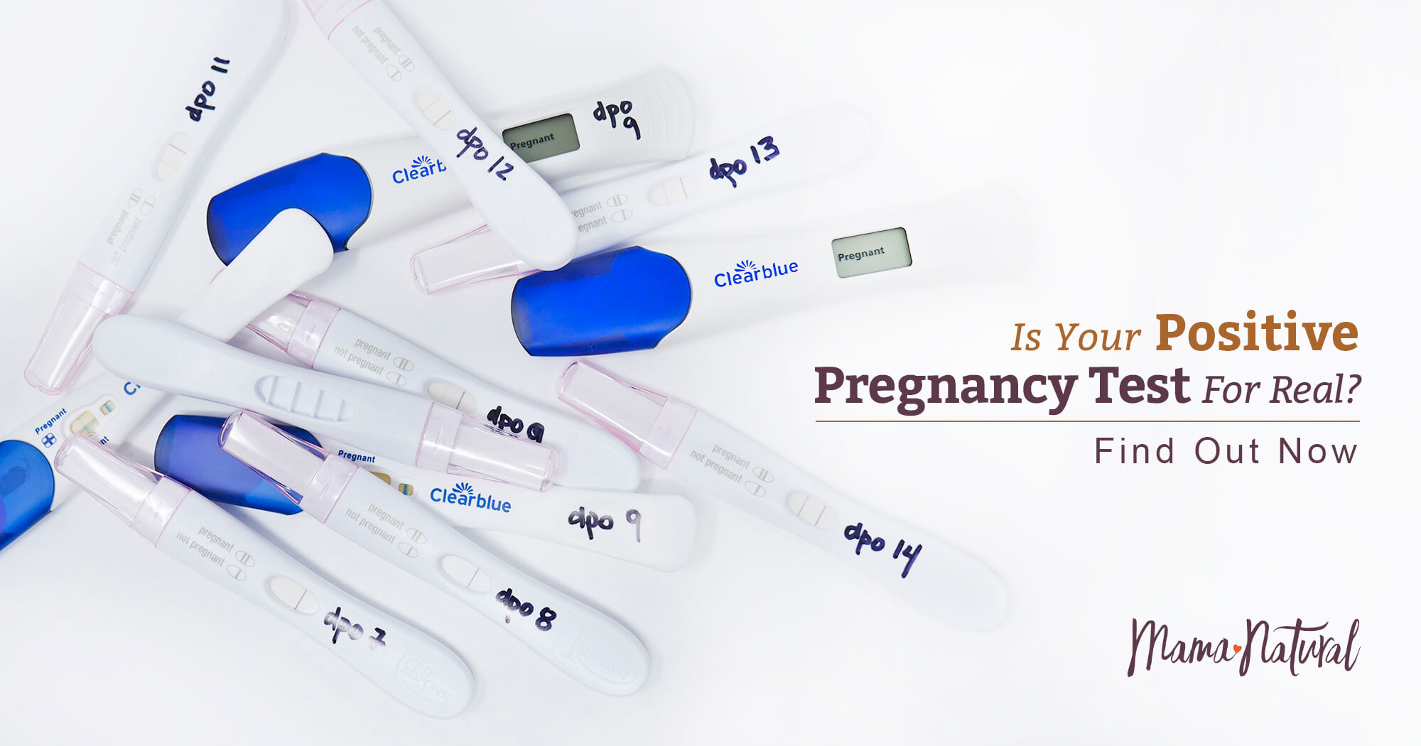 Is Your Positive Pregnancy Test For Real? Find Out Now