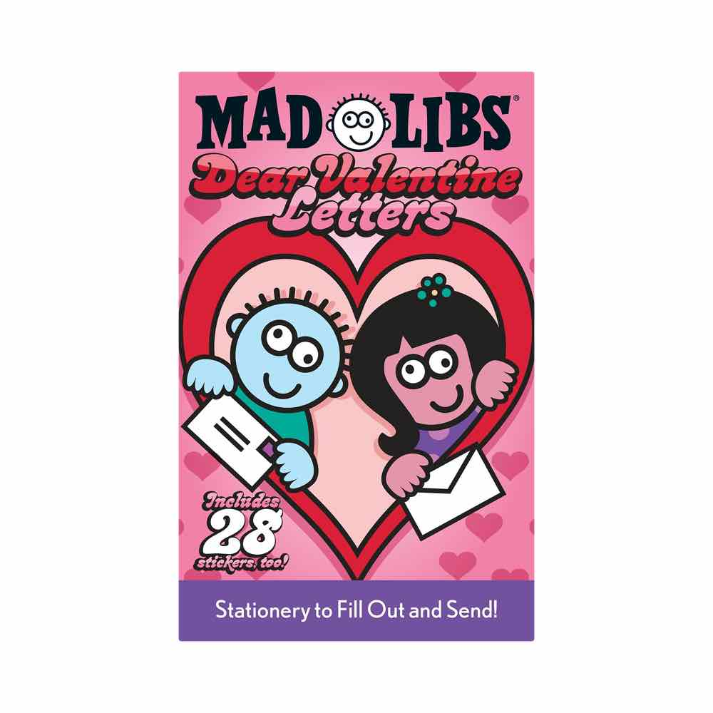 MadLibs Dear Valentine Letters