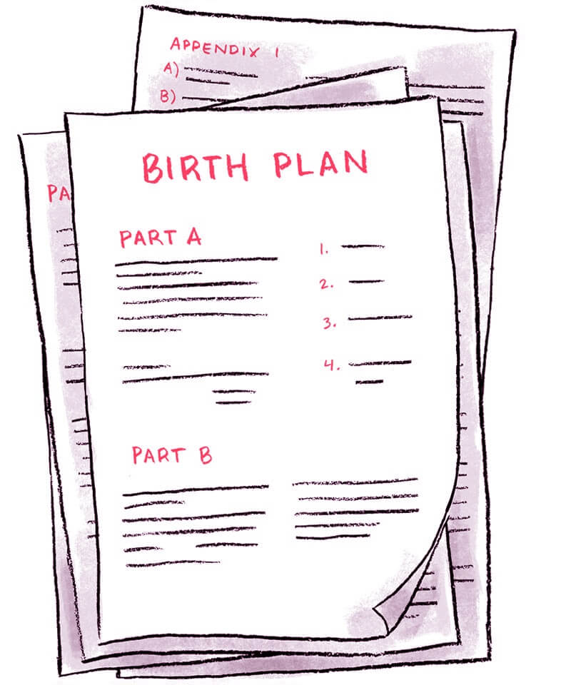 How to create a birth plan that actually gets read