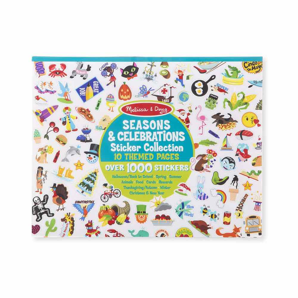 Melissa and Doug Sticker Collection