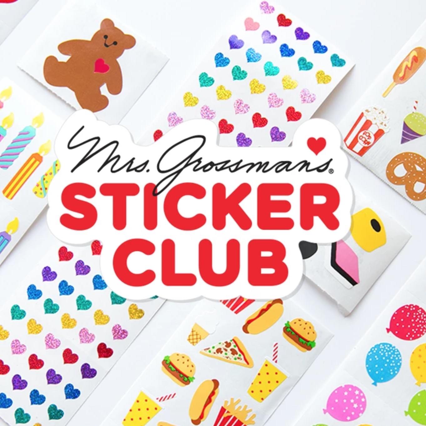 Mrs Grossman's Sticker Club