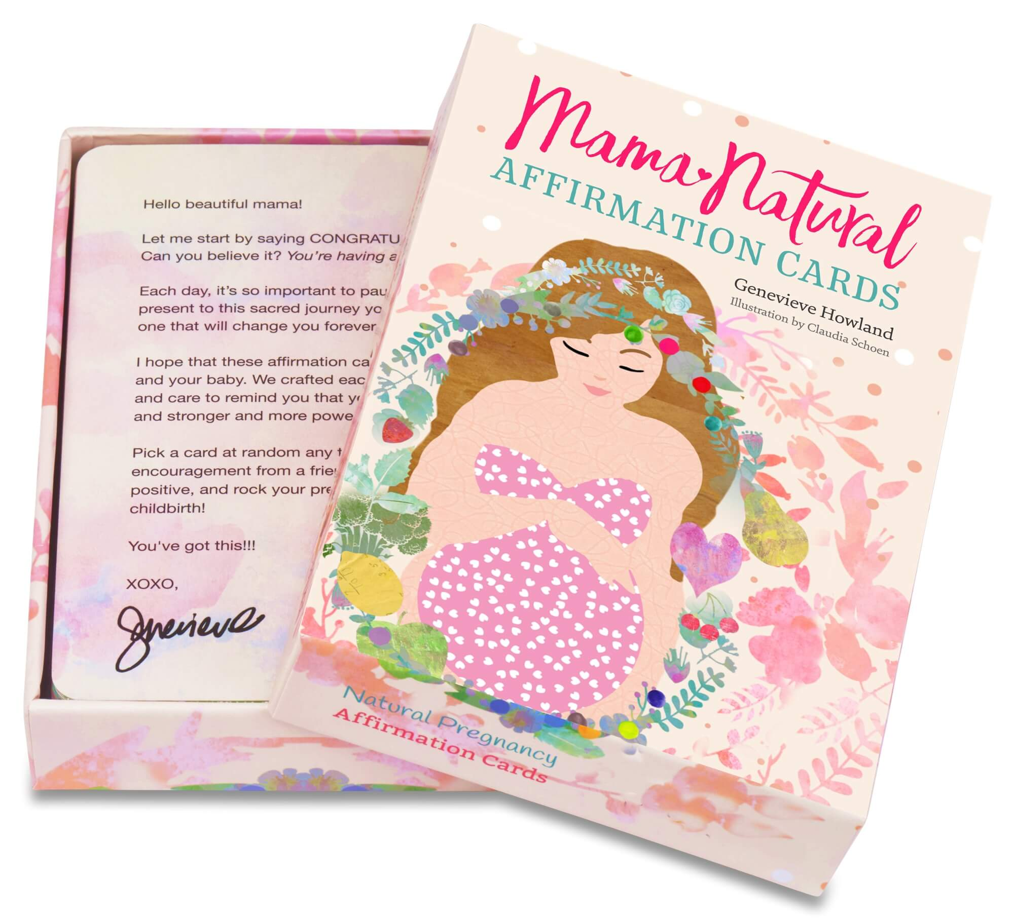 Mama Natural Pregnancy Cards