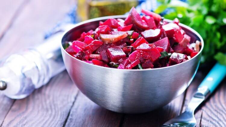 Nourishing Meals for New Moms - Beet Salad - Mama Natural