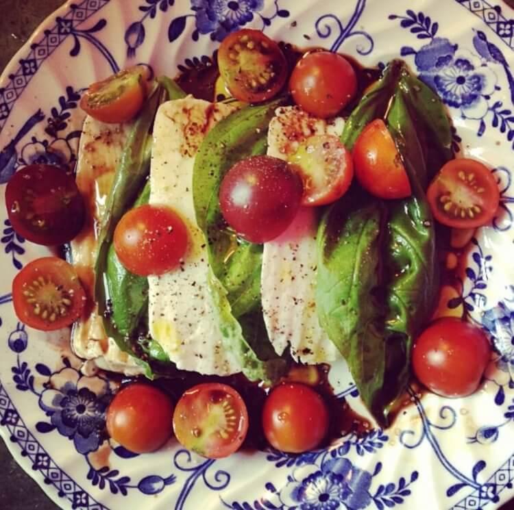 Nourishing Meals for New Moms - Caprese Salad - Mama Natural