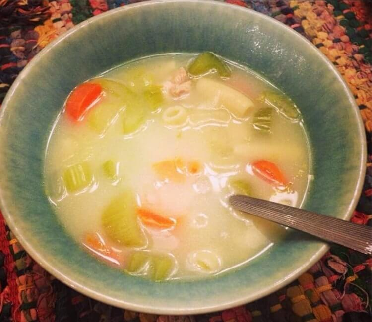 Nourishing Meals for New Moms - Chicken Soup - Mama Natural