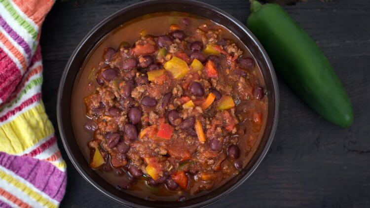 Nourishing Meals for New Moms - Turky Chili - Mama Natural