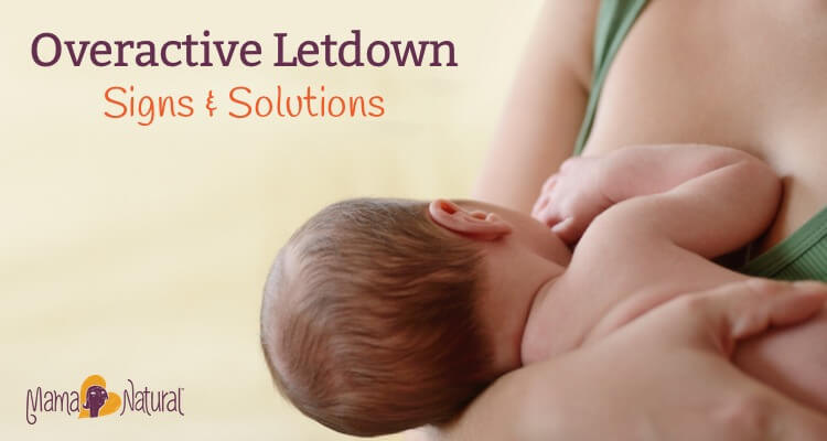 Overactive letdown is when your breast milk comes out too fast and hard at letdown. Learn how to spot it - and how to handle this frustrating issue.