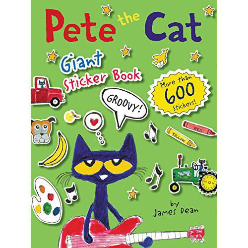 Pete the Cat Sticker Book