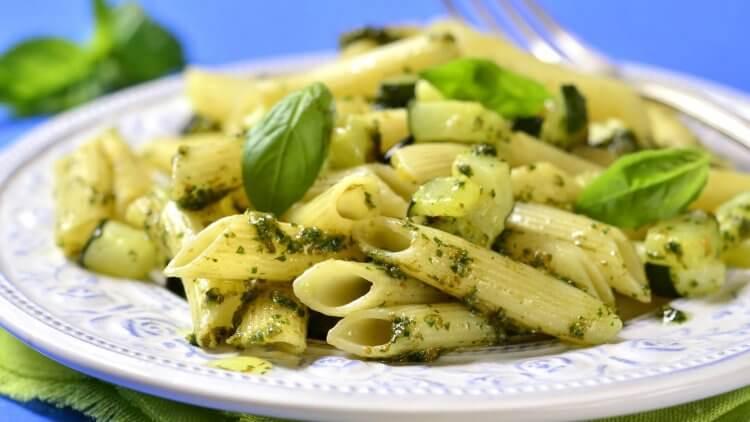 Pistachio Pesto Pasta recipe by Mama Natural