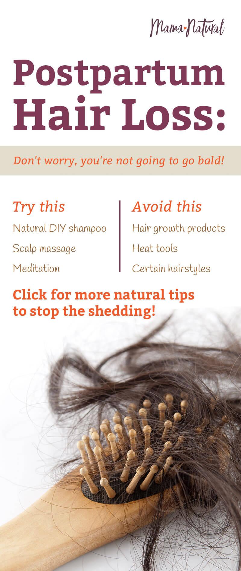 Postpartum Hair Loss: Natural Treatments & Remedies