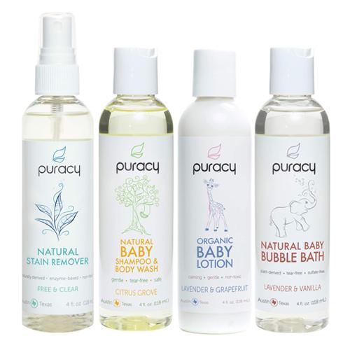 Puracy Organic Baby Care Gift Set