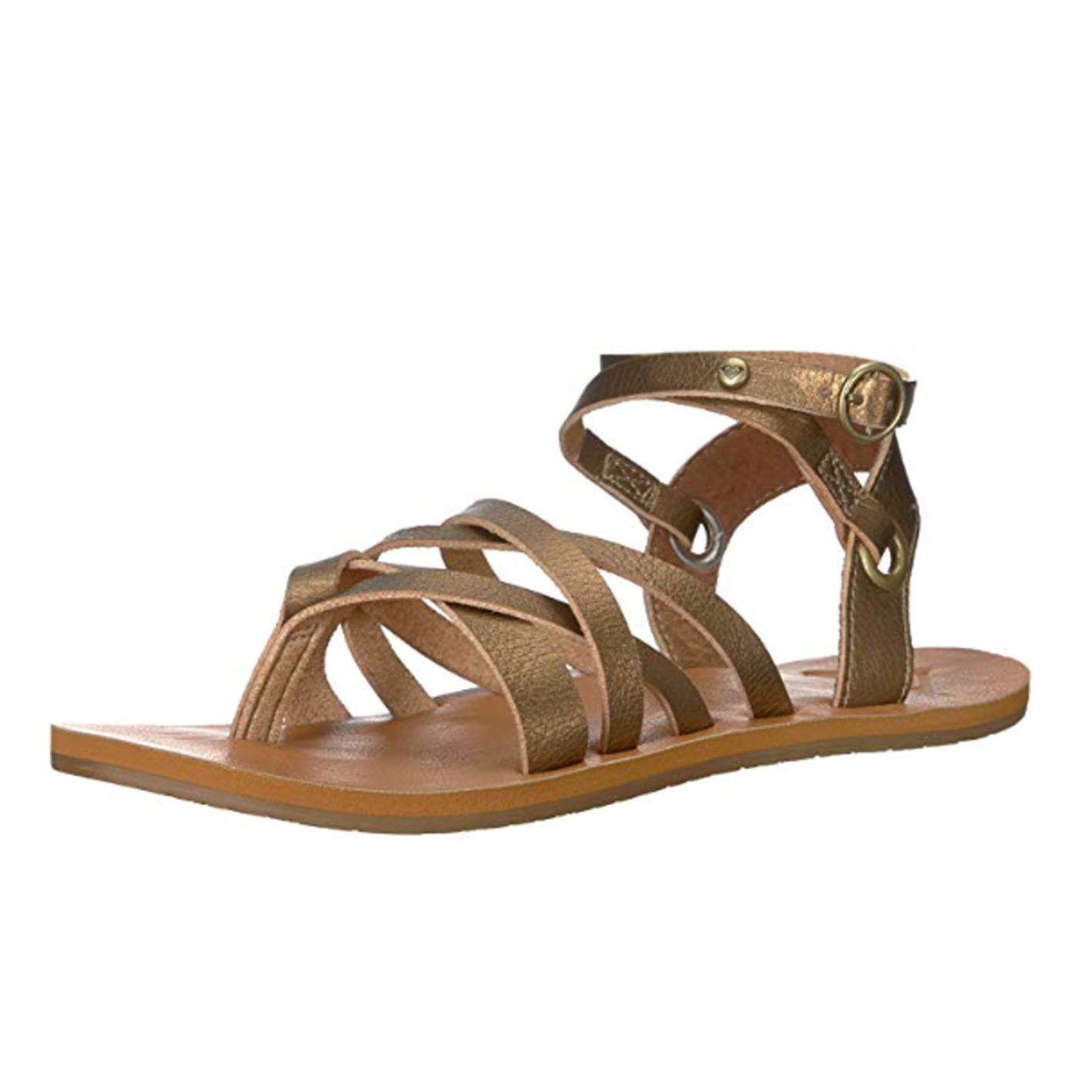 Roxy Women's Bailey Multi Strap Sandal Flat