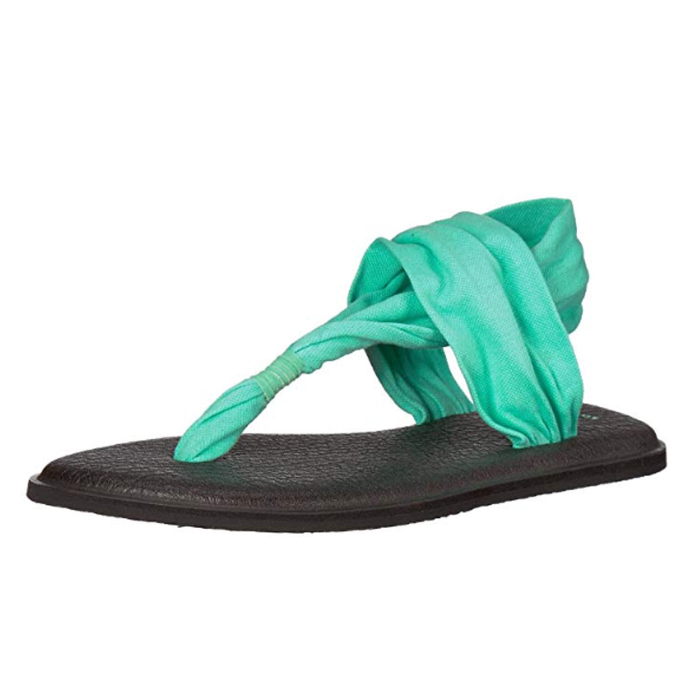 Sanuk Women's Yoga Sling 2 Metallic Flip Flop