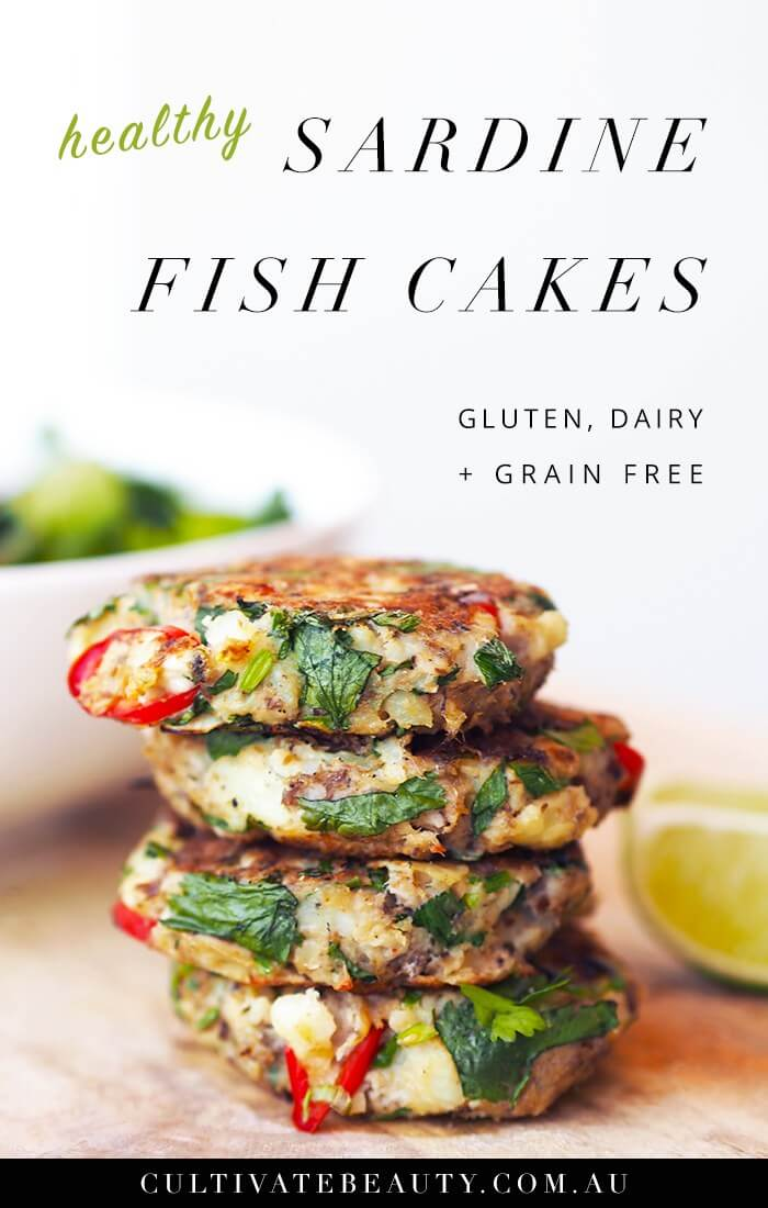 Sardine Fish Cakes by Cultivate Beauty