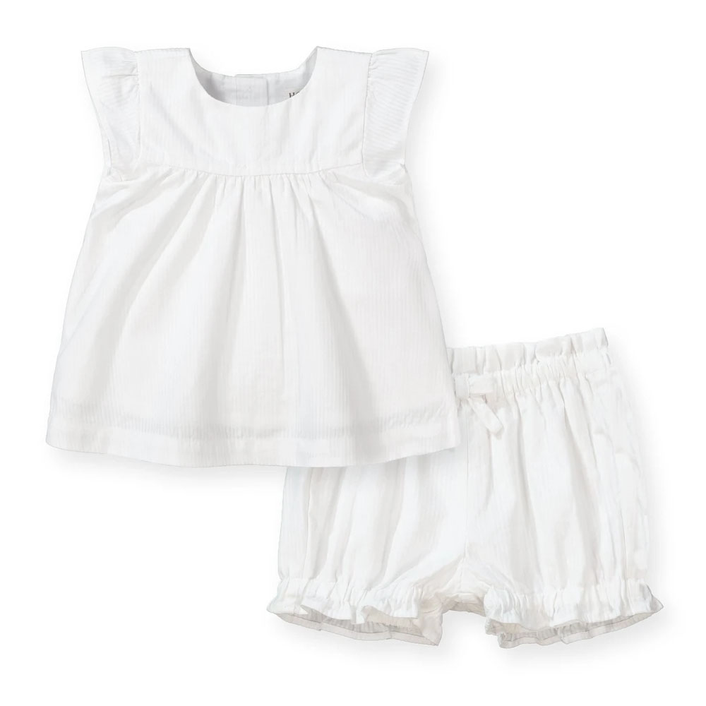 Seeker Top and Ruffle Bloomer Set