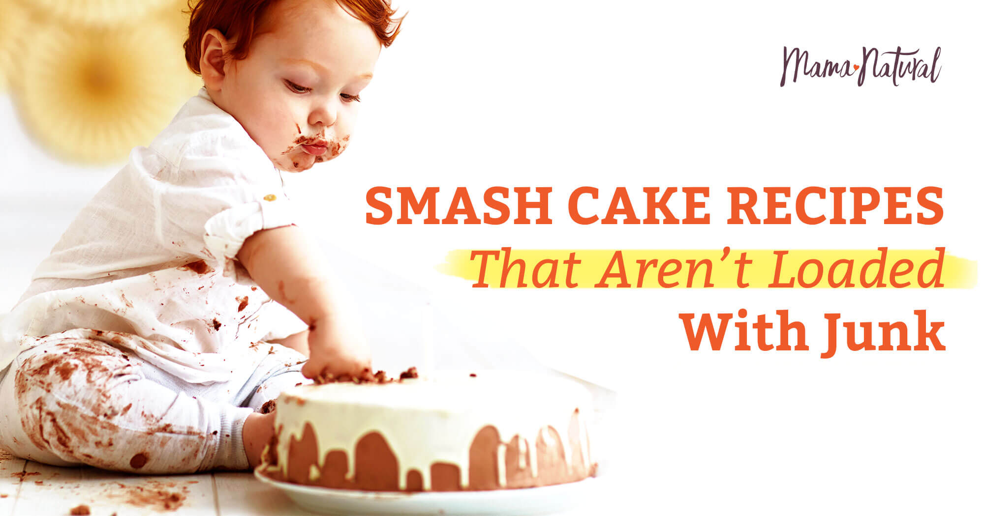 Swell Smash Cakes That Arent Loaded With Junk Mama Natural Funny Birthday Cards Online Alyptdamsfinfo