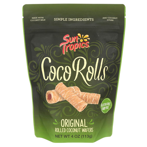 Sun Tropics Original Rolled Coconut Wafers - Best Gingerbread House Ideas