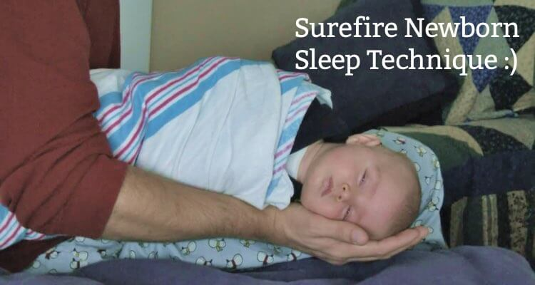 Surefire Newborn Sleep Technique by Mama Natural