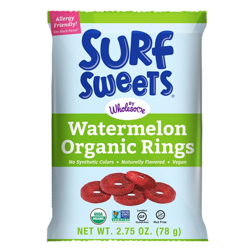 Surf Sweets Organic Watermelon Rings
