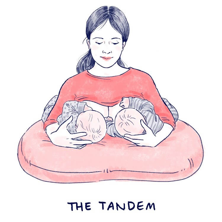 Breastfeeding Positions Have You Tried Them All Mama Natural