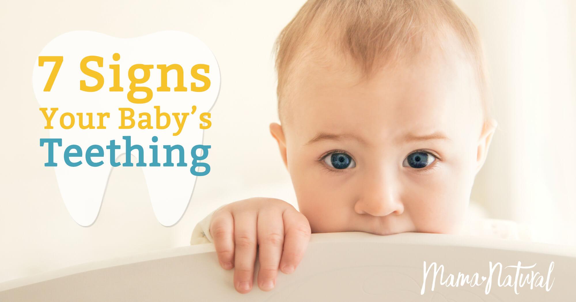 Teething Symptoms  7 Signs Your Baby is Teething 6b4230de3431