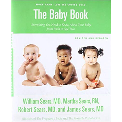 The Baby Book by William MD and Martha RN Sears - Top Natural Parenting Books post by Mama Natural
