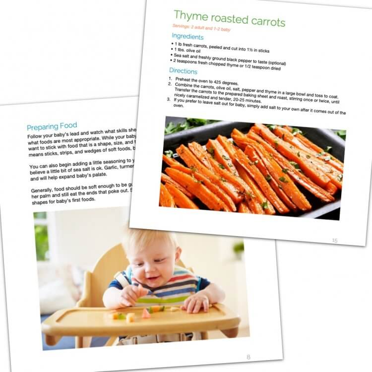 The Mama Natural Baby-Led Weaning Cookbook pages image 1