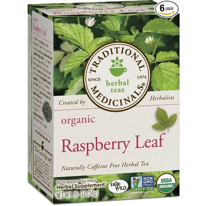 Traditional Medicinals Organic RRLT Tea Bags
