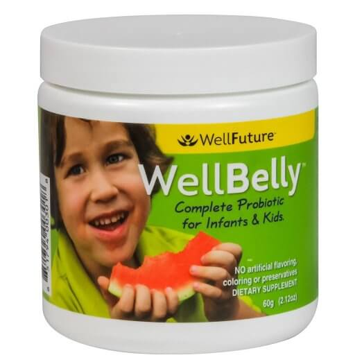 WellBelly by WellFuture infant and child probiotic