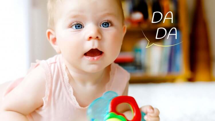 When do babies start talking? Find out when this exciting milestone happens, what the most common first words are, plus what to do if speech is delayed.