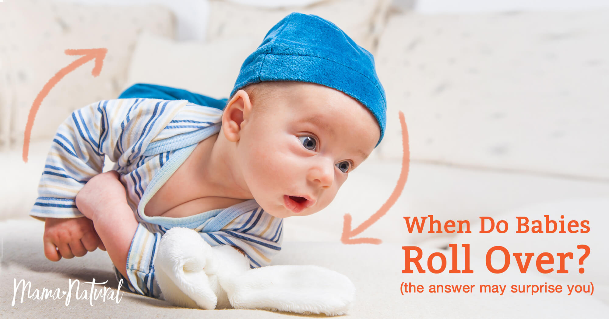 when do babies roll over   the answer may surprise you