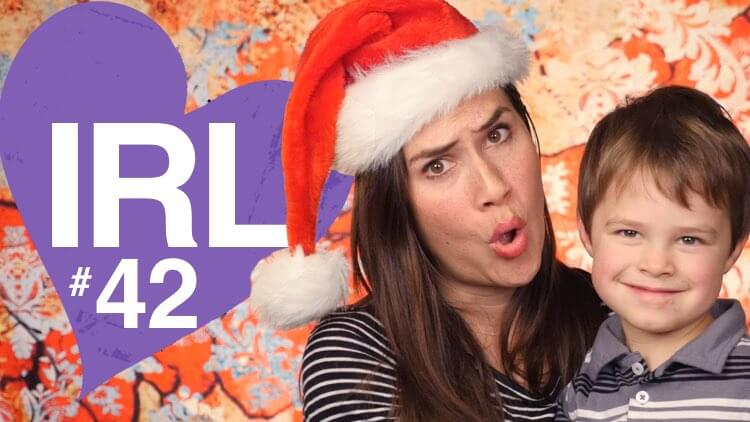 You Want WHAT for Christmas? In Real Life 42, a weekly video blog vlog by Mama Natural