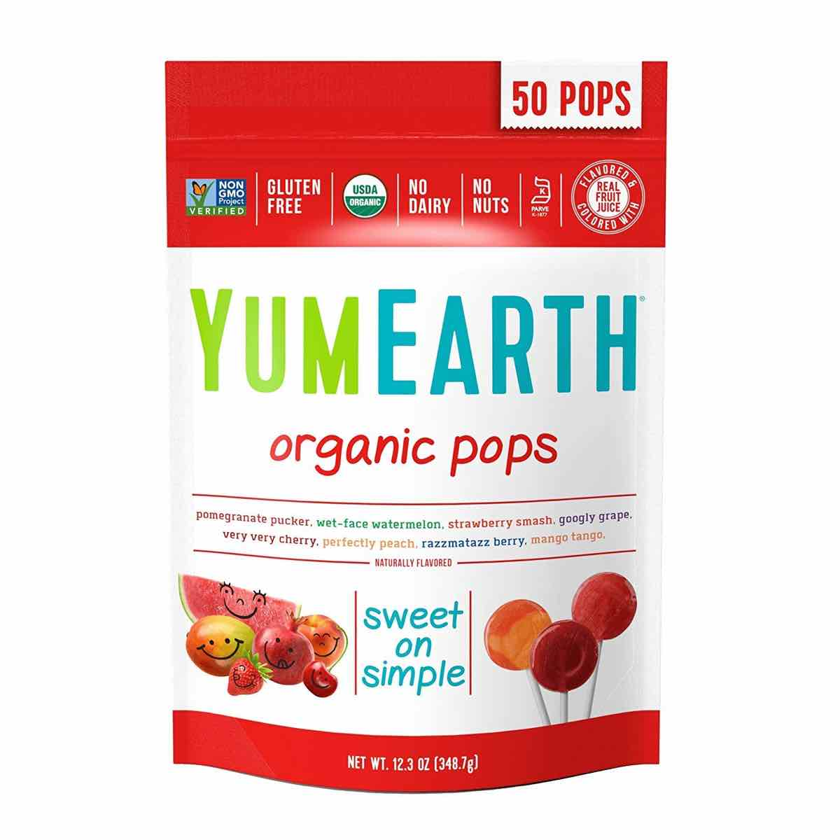 Yum Earth Organic Pops