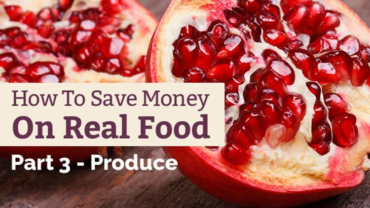How To Save Money on Food - Produce. It's not easy to save money on organic, local produce. Here's how my family buys (mostly) organic produce on a budget.